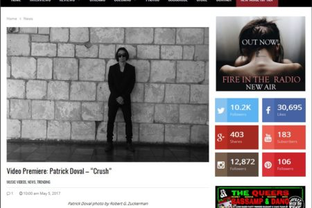 """Patrick Doval Premieres """"CRUSH""""..."""